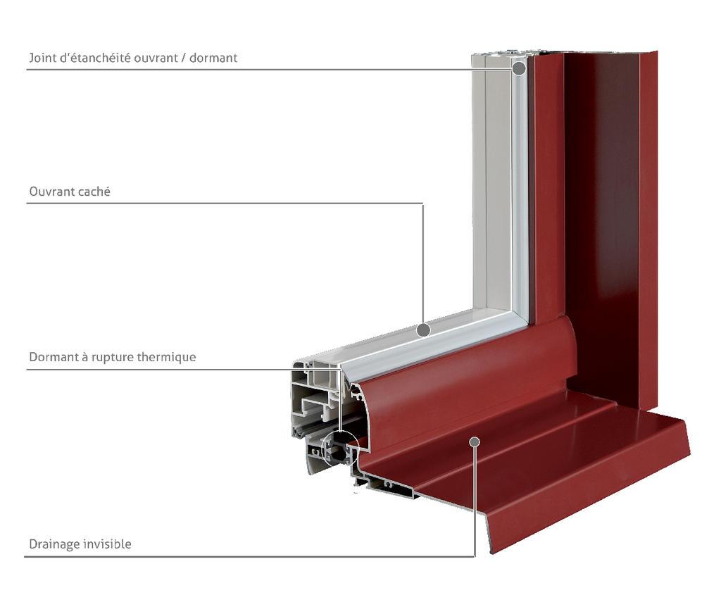 Pose en Rénovation d'une menuiserie Aluminium